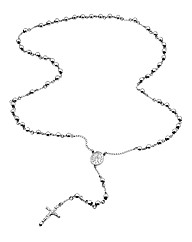 Stainless Steel Gents Rosary Necklace