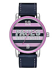 Pauls Boutique Ladies Stripe Dial Watch