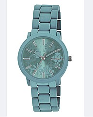 Kahuna Colour Flower Dial Bracelet Watch