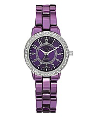 Ladies Metallic Bracelet Watch