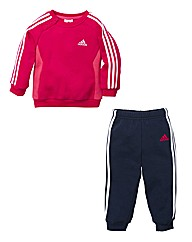 Adidas Infant Girls Tracksuit (0m-4yrs)