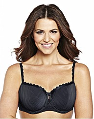 Shapely Figures White Black Olivia Bras