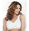 Shapely Figures White Minimiser Bra Pack