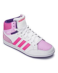 Adidas Girls Neo Hoops Mid Trainers