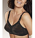 Triumph Black Doreen Non-Wired Bra