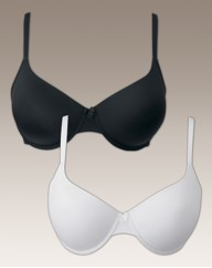 Naturally Close Black White Bra Pack