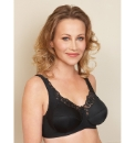 Royce Rhianna Non Wired Black Bra