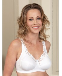 Royce Rhianna Non Wired White Bra