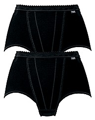 Triumph Sloggi Pack of 2 Control Briefs