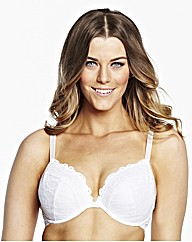 Simply Yours Black White Plunge Bras