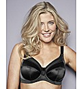 Goddess Black Keira Underwired Bra