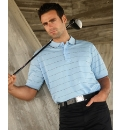 Glen Muir Pique Stripe Polo Shirt