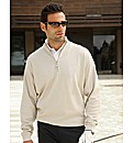 Glenmuir Long Sleeve Zip Neck Top