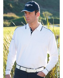 Glenmuir Long Sleeved Polo Shirt