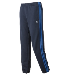 Adidas Mens Fleece Cuffed Joggers