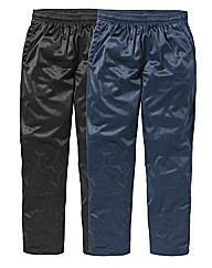 JCM Pack of 2 Polyester Pants 31 inches