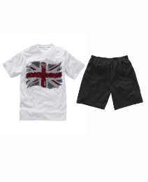 Jacamo T-Shirt & Shorts Pyjama Set