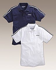 JCM Sports Pack of Two Polos