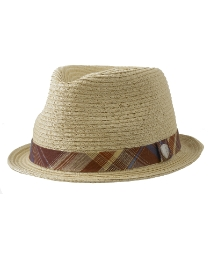 Ben Sherman Straw Pork Pie Hat