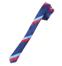 Ben Sherman Super Skinny Stripe Silk Tie