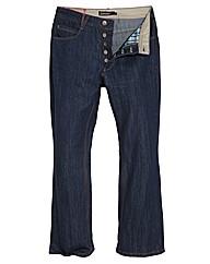 Jacamo Mens Bootcut Jeans 33 inches