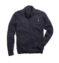 Jacamo Rolled Collar Full Zip Cardigan