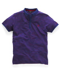 Ben Sherman Jersey Stripe Polo Shirt