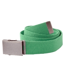 Jacamo Green Webbed Belt