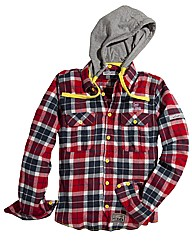 Scott & Woods Hooded Shirt