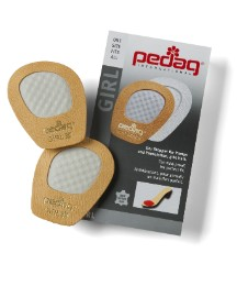 Pedag Pack Of 2 Pairs Foot Cushion