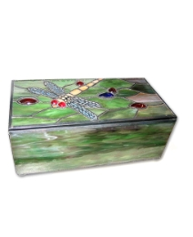 Tiffany Dragon Fly Jewellery Box