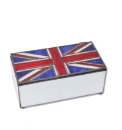 Tiffany Union Jack Jewellery Box