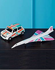 Olympics 2012 Concorde And Mini Classics