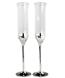 Vera Wang Pair Of Toasting Flutes