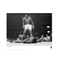 Muhammad Ali V Sunny Liston Print