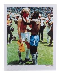 Pele Football Action shot