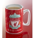 Musical Football Team Crest Mug