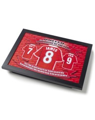 Personalised Football Shirt Lap tray
