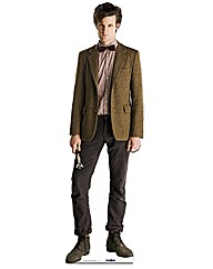 Matt Smith the 11th Doctor Cut Out