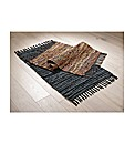 Leather Multi Rug
