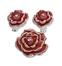 RHS Flower Clip On Earring