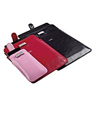 Diamante and Faux Leather IPad Case