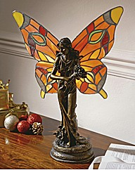 Tiffany Inpsired Stained Glass Lamp