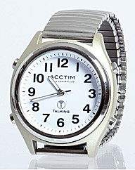 Talking Radio Controlled Watch Gents
