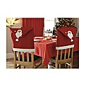 Santa Chair Back Covers Set 4