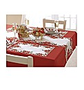 Poinsettia Runner and Placemat Set