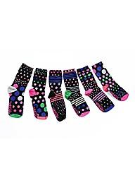 Ladies Foot Kandy Socks Selection