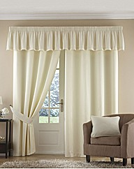 Fully Lined Tape Top Curtains