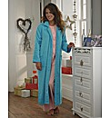 100% Cotton Button Towelling Robe 42 in