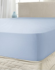 Pique Extra Deep Fitted Sheet 18in BOGOF
